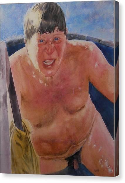 The Big Finn Canvas Print by Jan Rapp