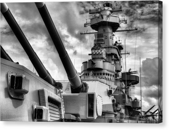 Dreadnought Canvas Print - The Big Nc by JC Findley