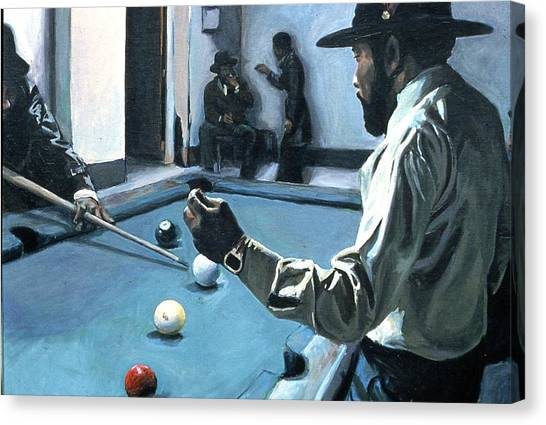 Canvas Print - The Big Pay Back by David Buttram