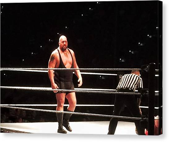 The Big Show Canvas Print