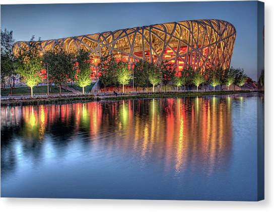 The Bird's Nest Canvas Print