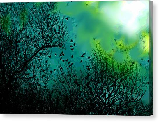 The Birds Of The Air  Canvas Print