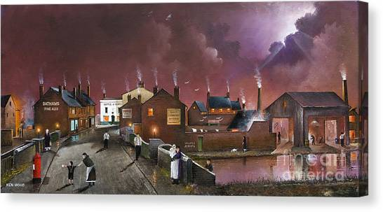 The Black Country Museum Canvas Print