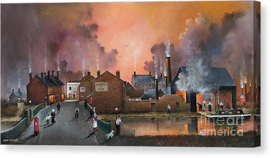 The Black Country Village Canvas Print