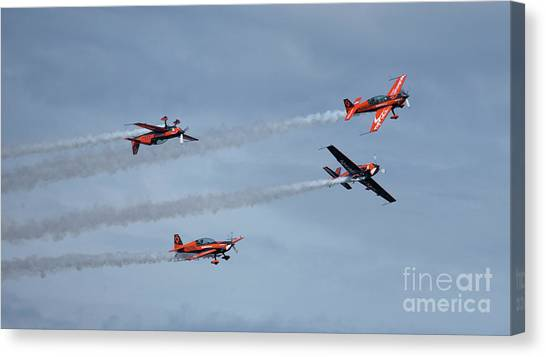 Sunderland Canvas Print - The Blades by Smart Aviation