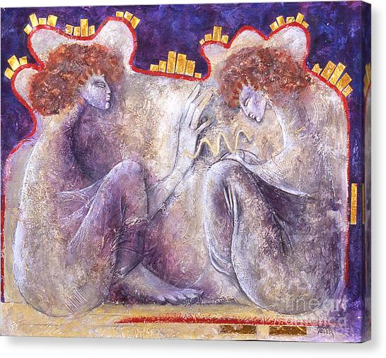 The Blessing Canvas Print by Marne Adler