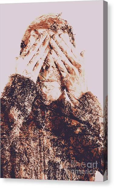 Citizen Canvas Print - The Bliss Of Ignorance by Jorgo Photography - Wall Art Gallery