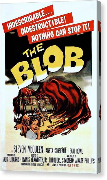 The Blob  Canvas Print