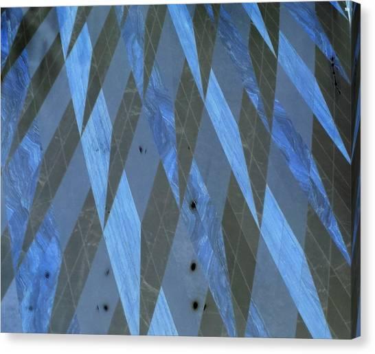The Blue Dimension Canvas Print