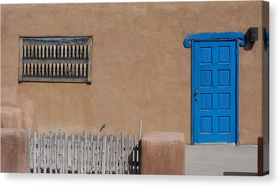 The Blue Door Canvas Print by Gary Cloud