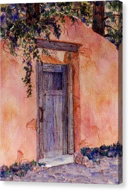 The Blue Gate Canvas Print