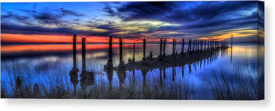 The Blue Hour Comes To St. Marks #2 Canvas Print