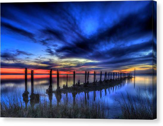 The Blue Hour Comes To St. Marks #1 Canvas Print