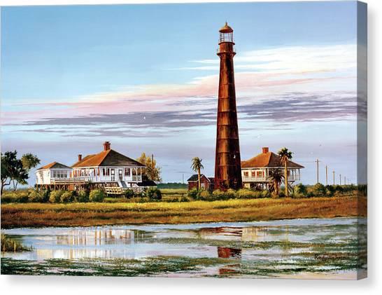 The Bolivar Lighthouse Canvas Print