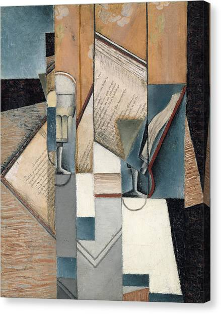 Futurism Canvas Print - The Book by Juan Gris