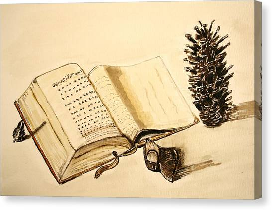 The Book Of Books. Canvas Print