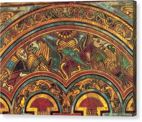 The Book Of Kells Canvas Print
