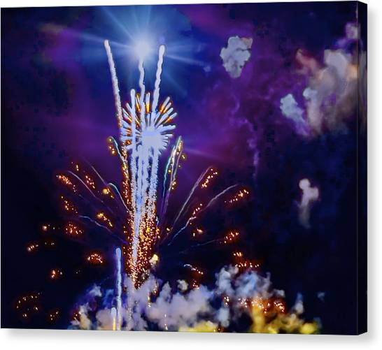 The Boom Canvas Print by Larry Bodinson
