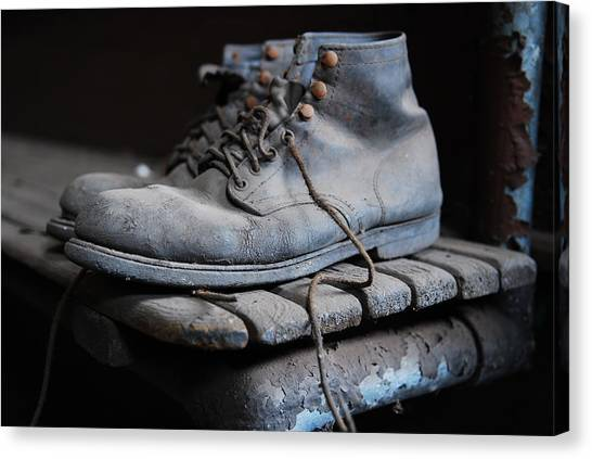 The Boots Canvas Print by Eric Harbaugh