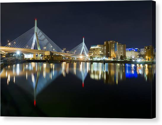 The Boston Bridge Canvas Print