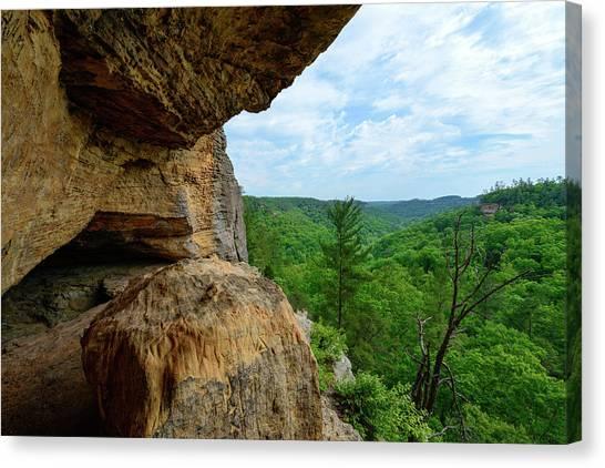The Boulders Edge Canvas Print