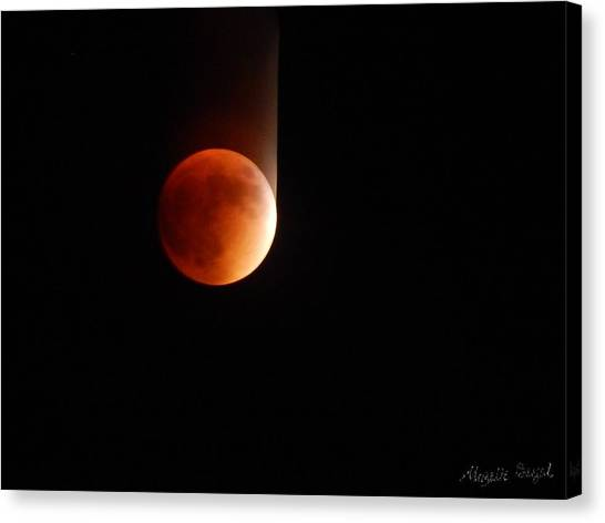 The Bouncing Eclipse Canvas Print
