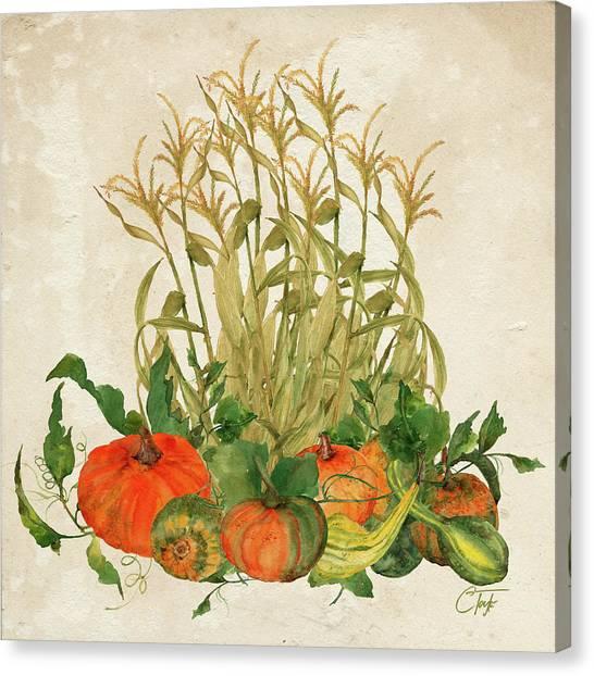 The Bountiful Harvest Canvas Print