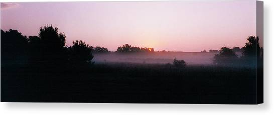 The Brass Band Of Dawn Canvas Print by Tom Hefko