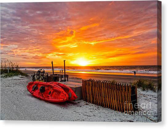 The Break Of Day Canvas Print