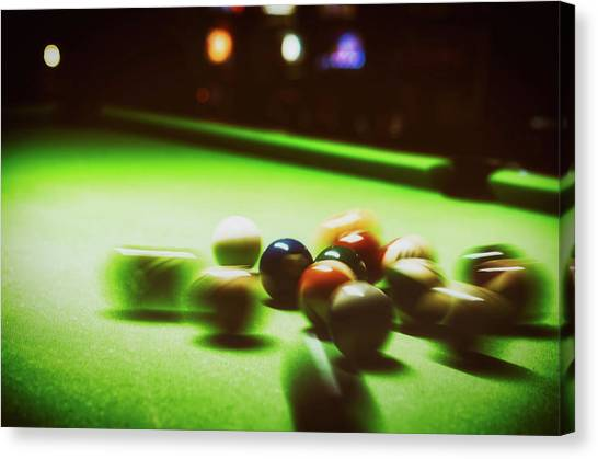 Fast Ball Canvas Print - The Break by Yamamax777