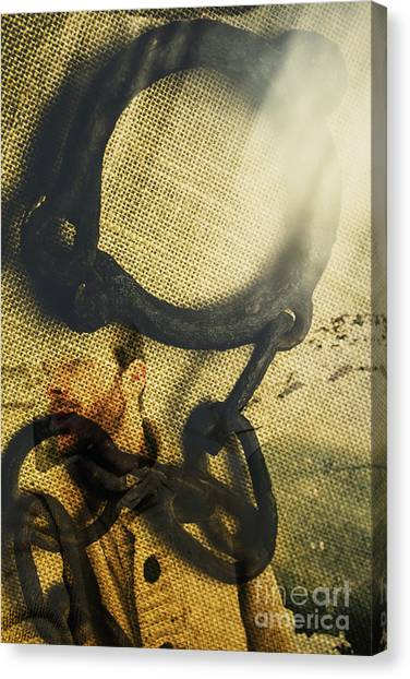 Detention Canvas Print - The Breakaway by Jorgo Photography - Wall Art Gallery