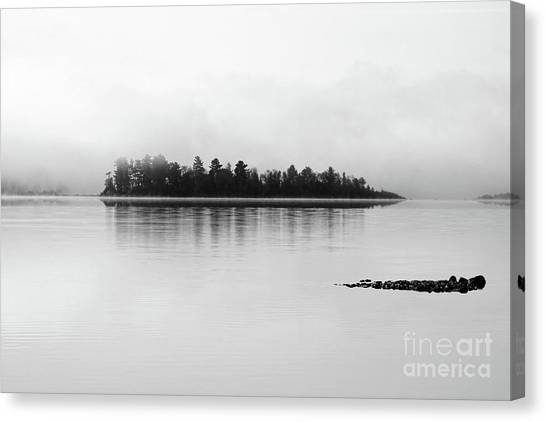 The Breaking Fog Canvas Print