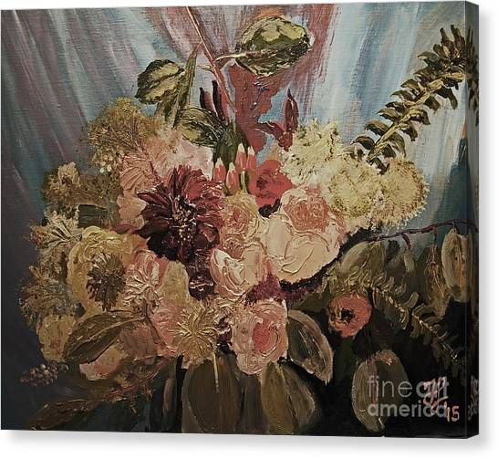 The Bridal Bouquet Canvas Print