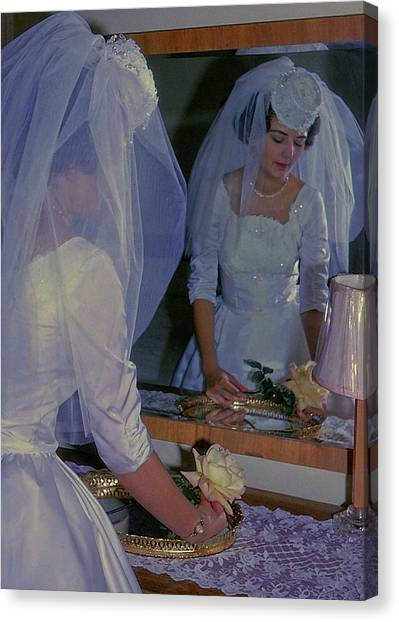 The Bride Canvas Print by JAMART Photography