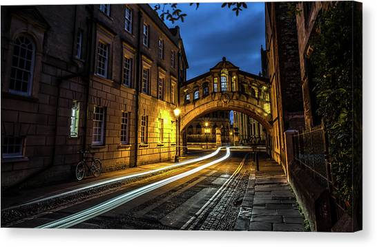 Harry Potter Canvas Print - The Bridge Of Sighs - Oxford, United Kingdom - Travel Photography by Giuseppe Milo