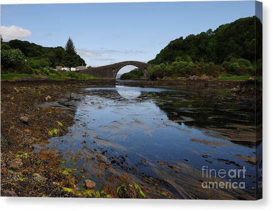 Atlantic Canvas Print - The Bridge Over The Atlantic by Smart Aviation