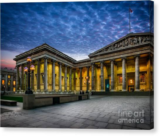 The British Museum Canvas Print - The British Museum by Adrian Evans