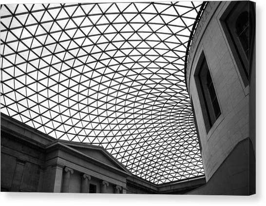 Ansel Adams Canvas Print - The British Museum by Martin Newman