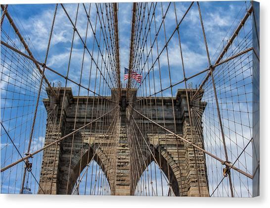 The Brooklyn Bridge Canvas Print