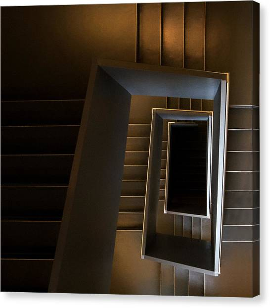 Museums Canvas Print - The Brown Sugar Staircase by Gerard Jonkman
