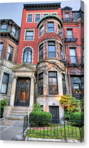 The Brownstone  Canvas Print by JC Findley