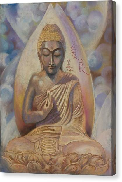 The Buddah Canvas Print