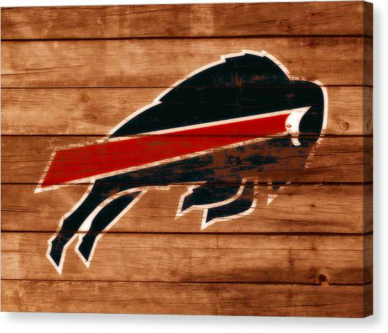 Oklahoma State University Canvas Print - The Buffalo Bills W2 by Brian Reaves