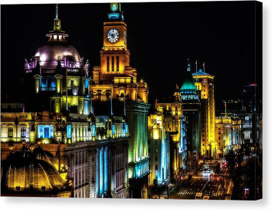 The Bund Canvas Print