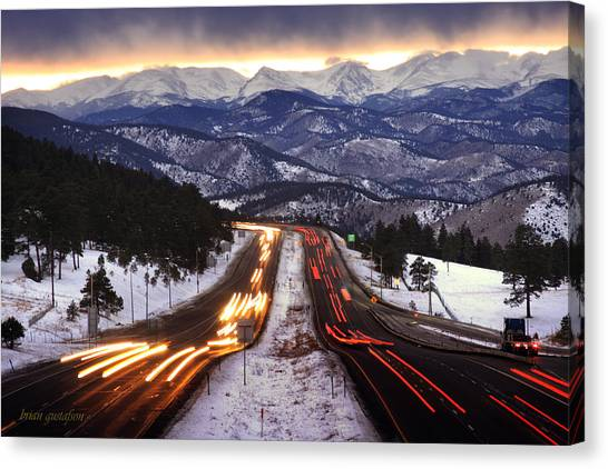 The Call Of The Mountains Canvas Print