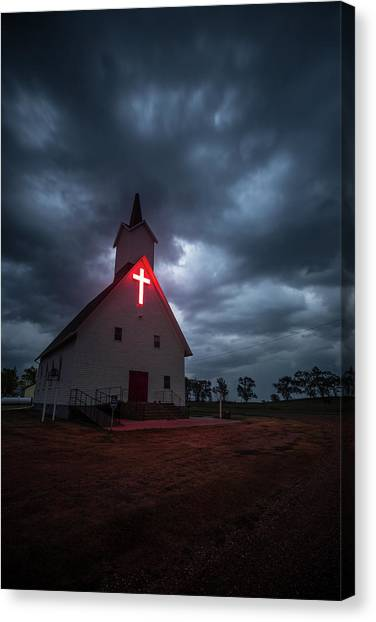 Tornadoes Canvas Print - The Calling by Aaron J Groen