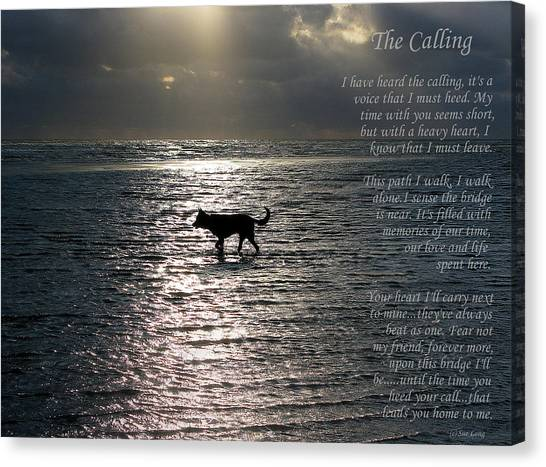 The Calling  Version Two Canvas Print