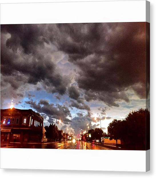 South Dakota Canvas Print - The Calm After The Storm by Britni Hemmer