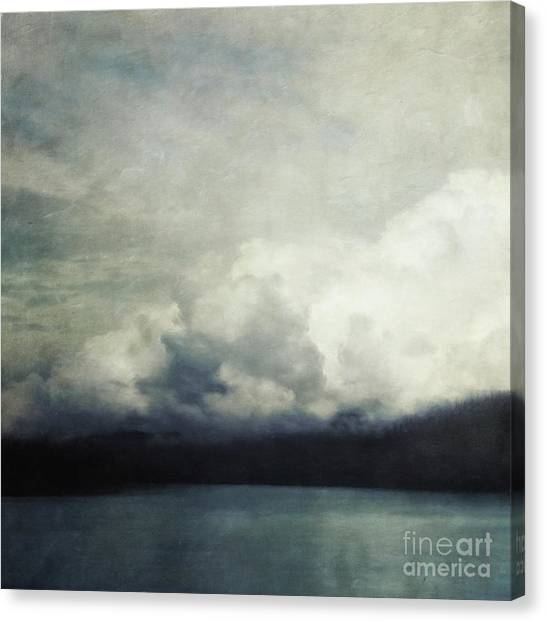 Rainclouds Canvas Print - The Calm Before The Storm by Priska Wettstein