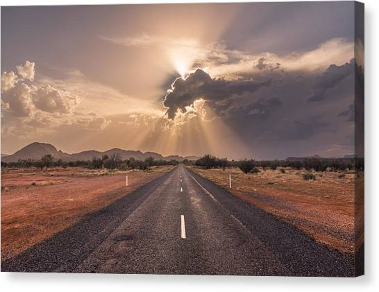 The Calm Before The Storm Canvas Print